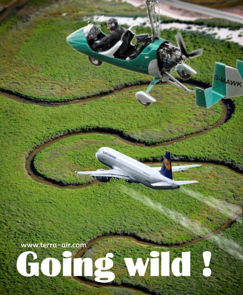 Going wild! Natur beim Fliegen