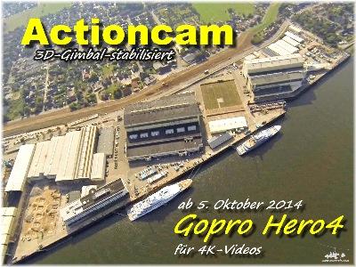 Luftbilder, Aerial, Luftbildpanoramen und Aerovideos in Norddeutschland